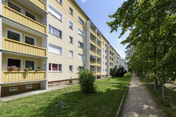 Ringstraße 21, Niesky 2-Raum-Wohnung mit Balkon